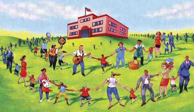 American Educator community schools image